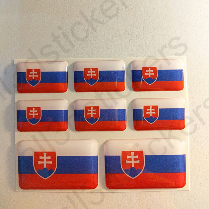 Sticker Northern Ireland Resin Domed Stickers Northern Ireland Flag 3D Adhesive
