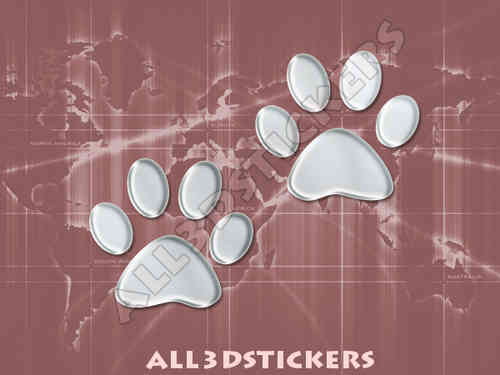 3D Sticker Paws