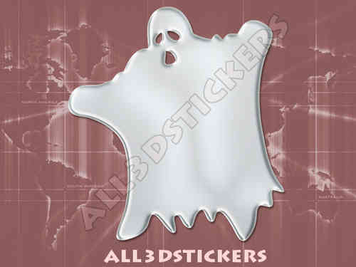 3D Sticker Ghost Phantom Specter