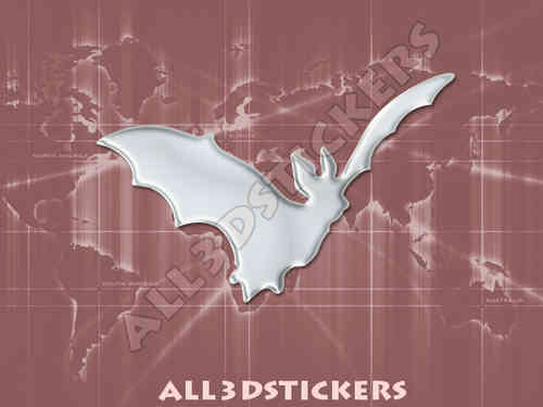 3D Sticker Bat
